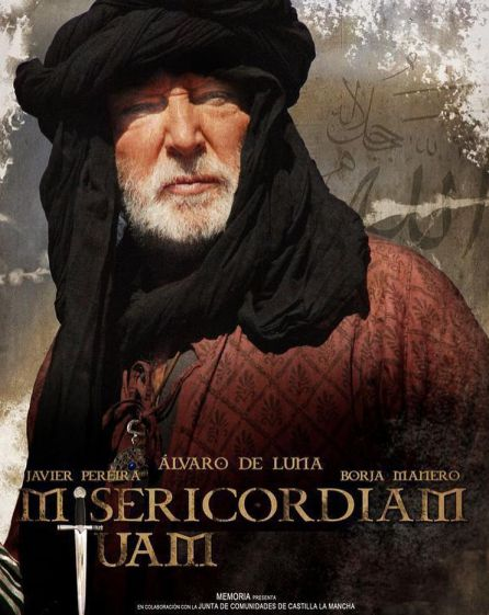 Cartel del cortometraje 'Misericordiam tuam'.