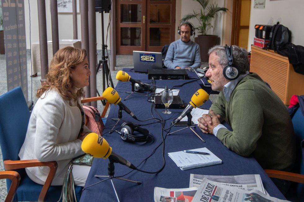 Cristina Vicedo, Directora General de Futurebrand, entrevistada por Carlos Alarcón en Hoy por Hoy Cádiz