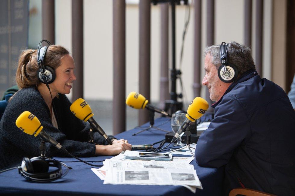 Zaforteza, entrevistada en Radio Cádiz