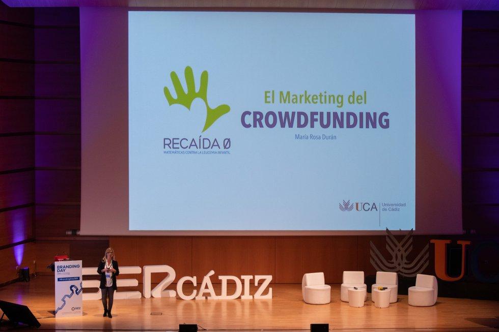 María Rosa Durán Doctora en Matemáticas UCA habló sobre El Marketing del Crodwfunding