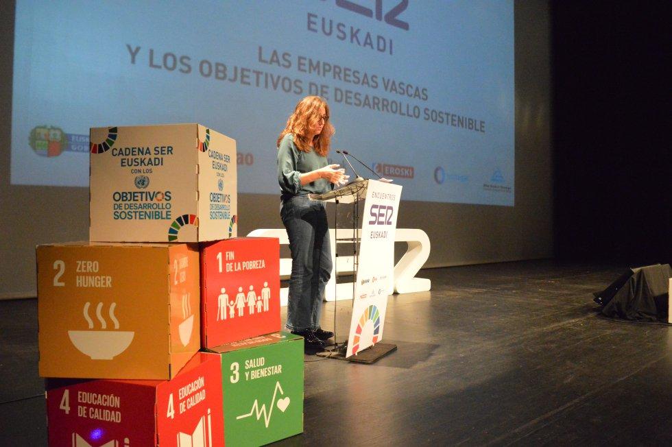 Ana Díaz, responsable de Investigación e Innovación Social de la Fundación Novia Salcedo