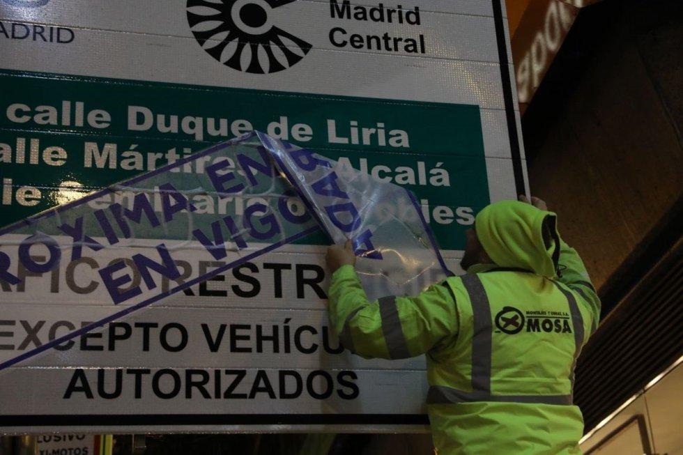 Arranca Madrid Central superando el modelo de las APR y con una primera fase informativa sin multas.