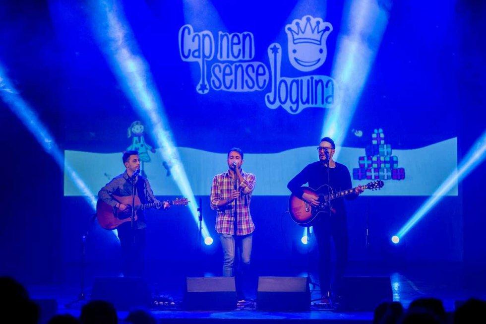 Càlida actuació d' 'Aran', que van obrir el concert amb 'Hivern'