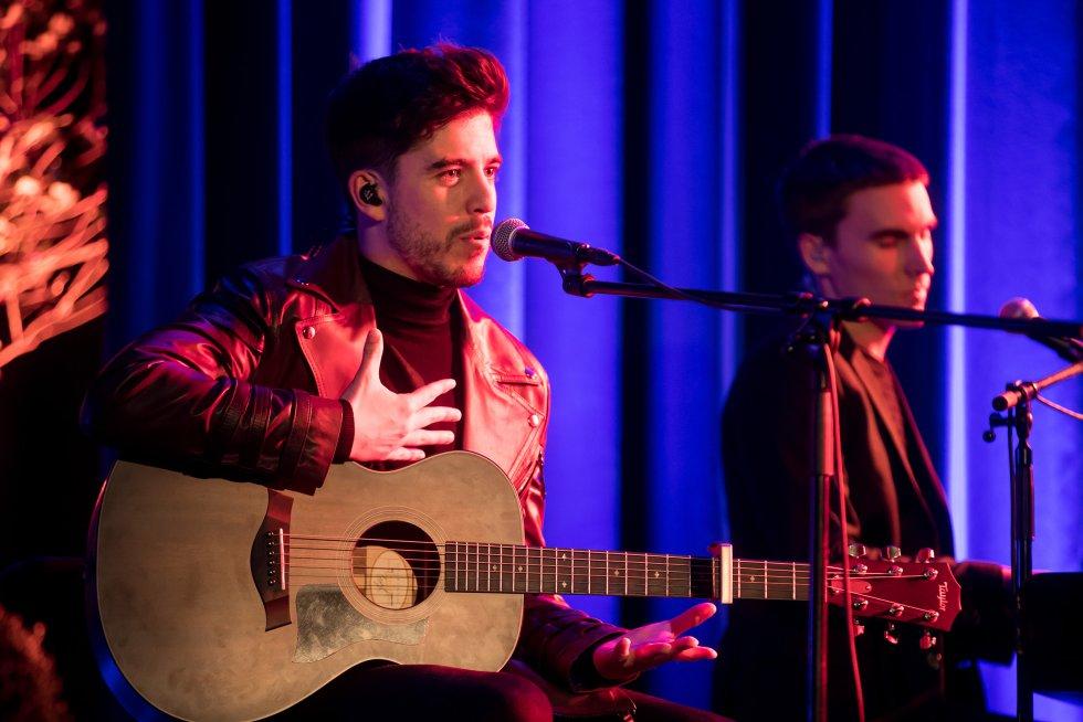 El compostelano Roi Méndez y Carlos Ares fueron los encargados de poner música a la gala de los SERenidade 2018.