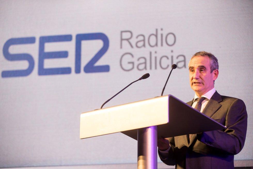 Mario Moreno, director de la Cadena SER en Galicia.