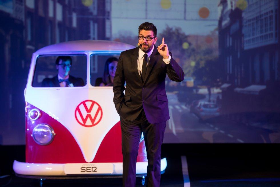 El periodista Luis Pardo, encargado de conducir la gala.