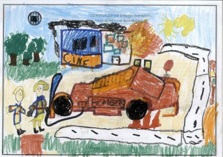Los Dibujos Dan Color Al Calendario De Los Bomberos Radio
