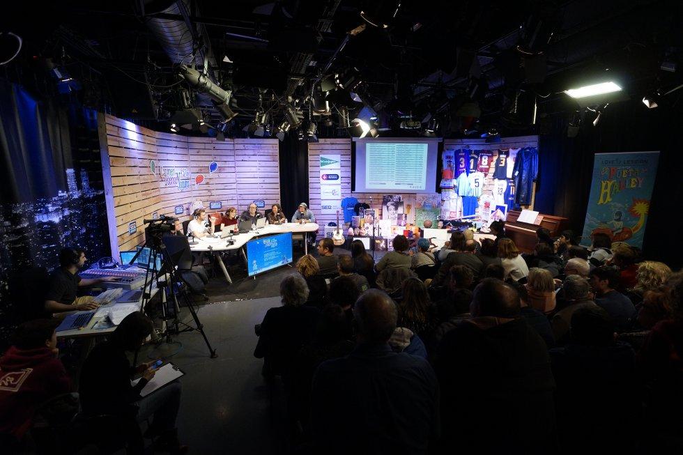 L'Estudi Toresky va tenir una afluència de públic continua durant les gairebé 9 hores de programa en directe
