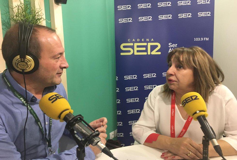 La alcaldesa de Teverga, María Amor Álvarez, entrevistada por Nacho Poncela