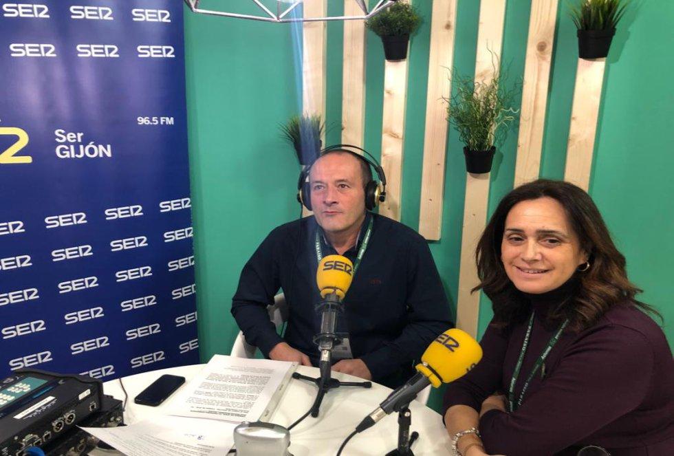 La edil de Turismo de Cangas de Onís, Salomé García, en la Cadena SER