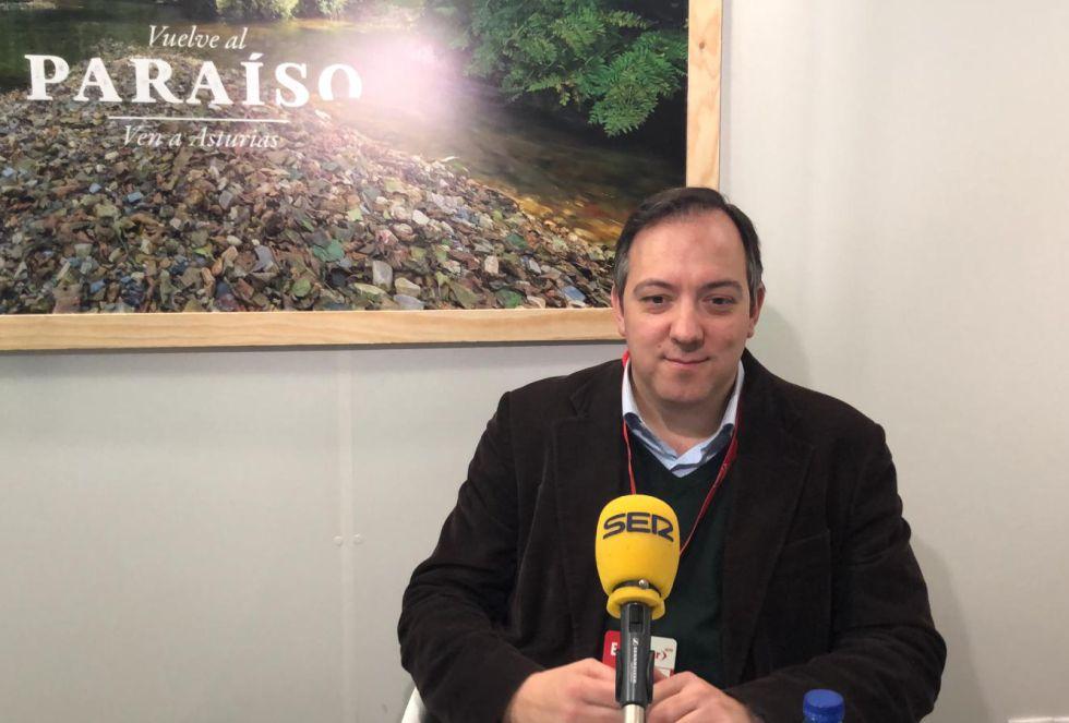 El alcalde de Villaviciosa, Alejandro Vega, otro de los protagonistas de la programación especial de FITUR