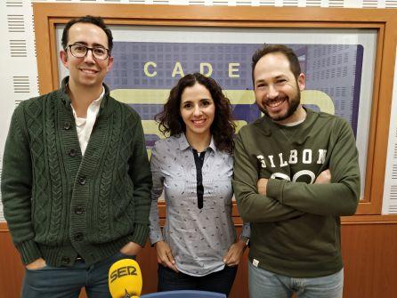José María Martín, Patricia Huertas y Jacinto Molero.