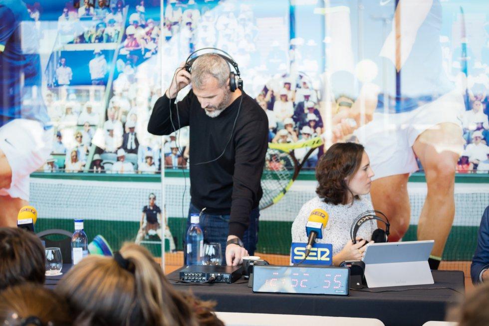 Día Mundial de la Radio desde la 'Rafa Nadal Academy by Movistar'