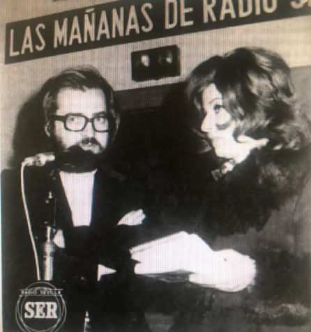 Marísa Carrillo junto a Antonio Burgos