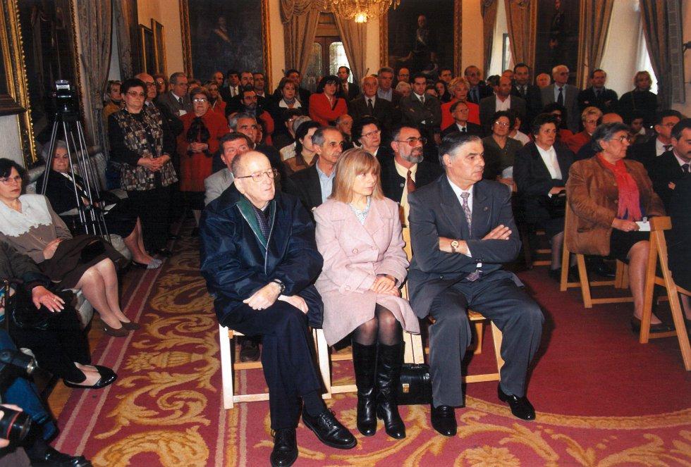 Algunos de los asistentes al Premio (1998)