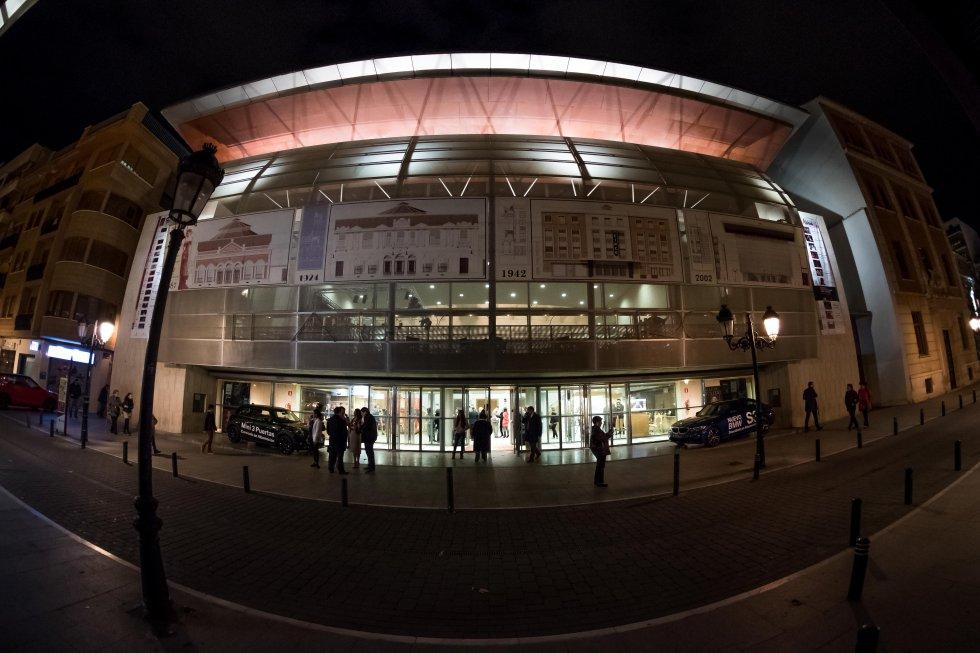 Aspecto exterior del Teatro Circo de Albacete