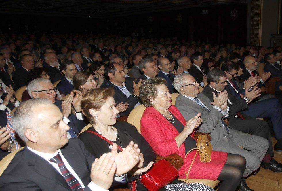 Algunos de los presentes aplaudieron en distintos momentos de la Gala