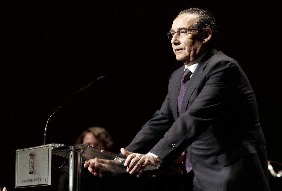 El director de la Red de Emisoras, José Carlos Herreros, durante su intervención