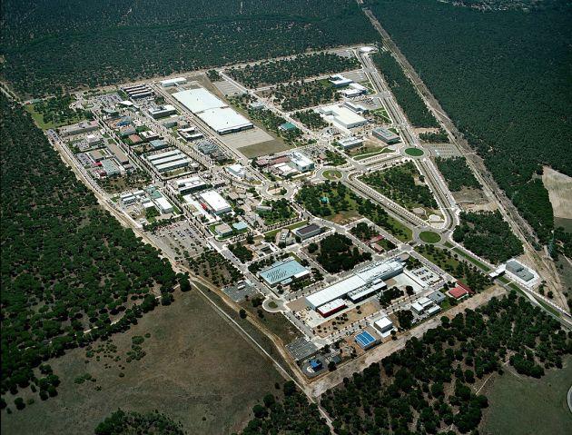 Vista aérea del Parque Tecnológico de Boecillo