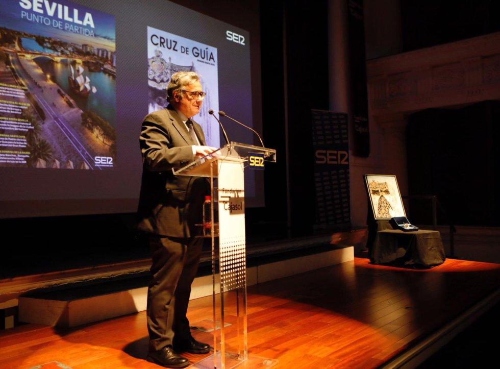 Antonio Yélamo, director de Radio Sevilla y la Cadena SER en Andalucía, dio unas palabras de bienvenida
