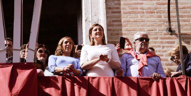 María José Català en los actos en honor a la Virgen de los Desamparados
