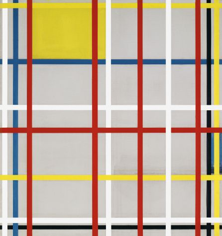 New York, de Piet Mondrian