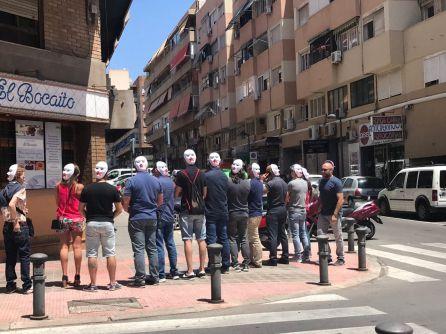 """Policías nacionales protestan por el """"caos organizativo"""" del comisario provincial"""