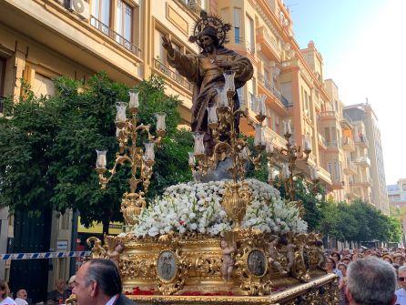 San Rafael La Virgen De Los Dolores Y El Sagrado Corazon Celebran
