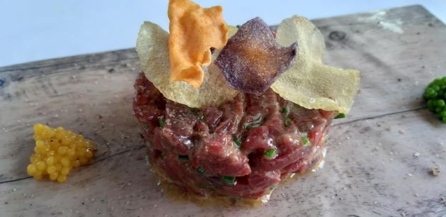 Steak tartar de vaca retinta