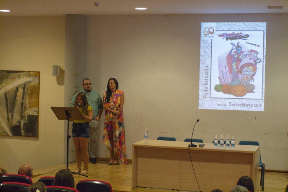 FOTOGALERÍA | Presentación bocetos Fallas de Elda