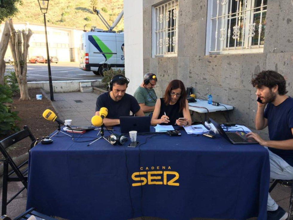 Especial Hoy por Hoy con Javier Ruiz en Gran Canaria por el incendio forestal. En directo desde Valleseco.