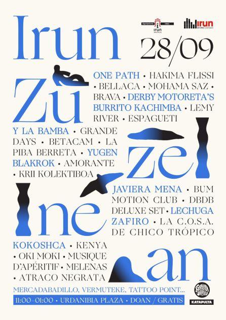 Irun Zuzenean 2019, el festival de música más ambicioso hasta la fecha