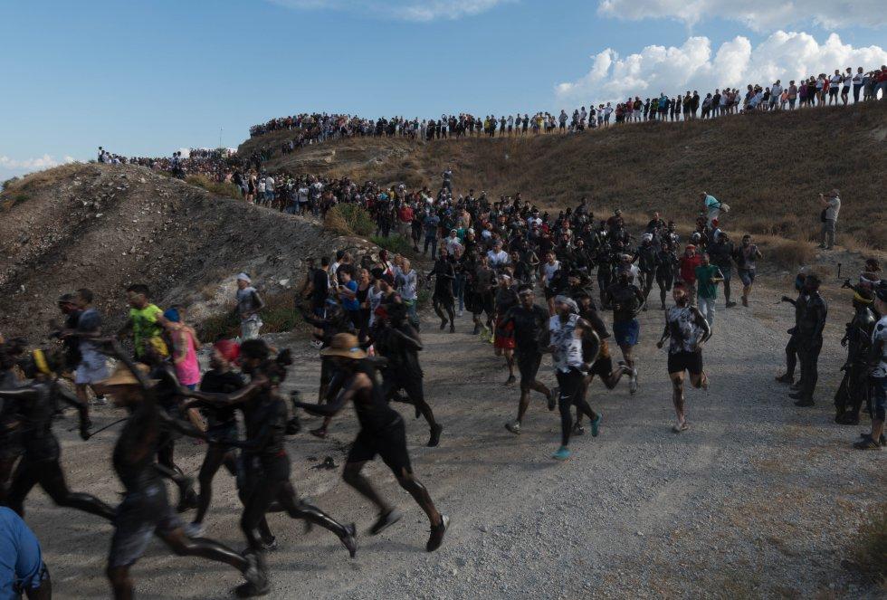 Fiesta del Cascamorras en Baza