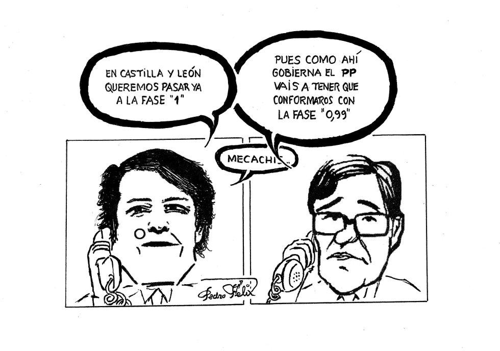 Viñeta de Pedro Félix para este domingo 24 de mayo