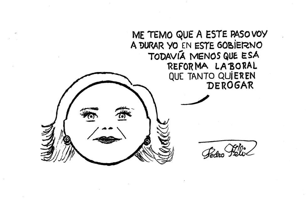 Viñeta de Pedro Félix de este martes 26 de mayo