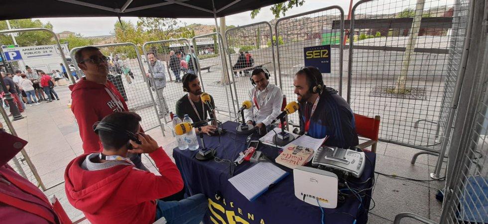 El programa SER Deportivos Toledo también se emitió desde la llegada