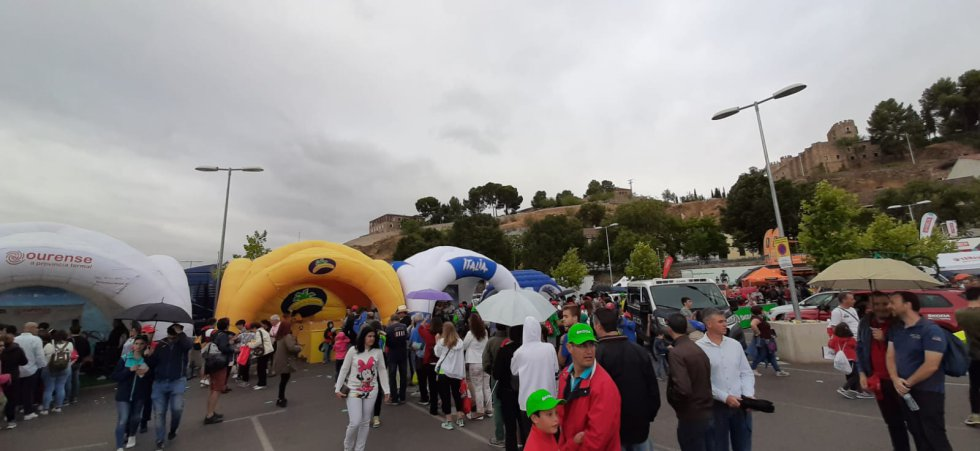 La jornada acaba en el Parque Vuelta ubicado en el aparcamiento de Azarquiel