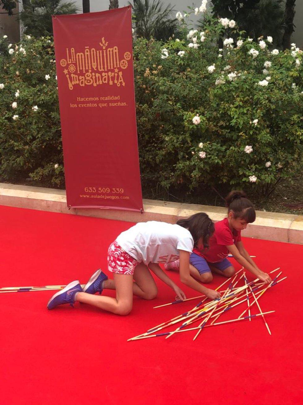 Los niños protagonistas de Actúa Málaga