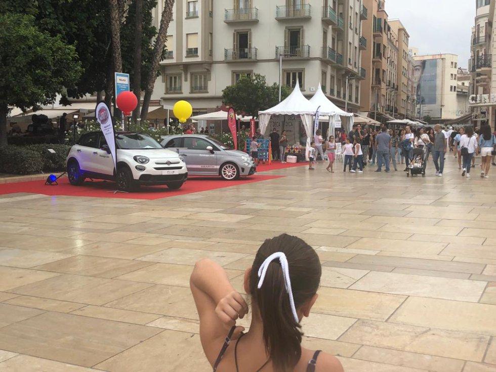 Escenarios en calle Alcazabilla