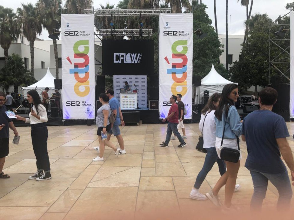 Primeros compases de Actúa Málaga