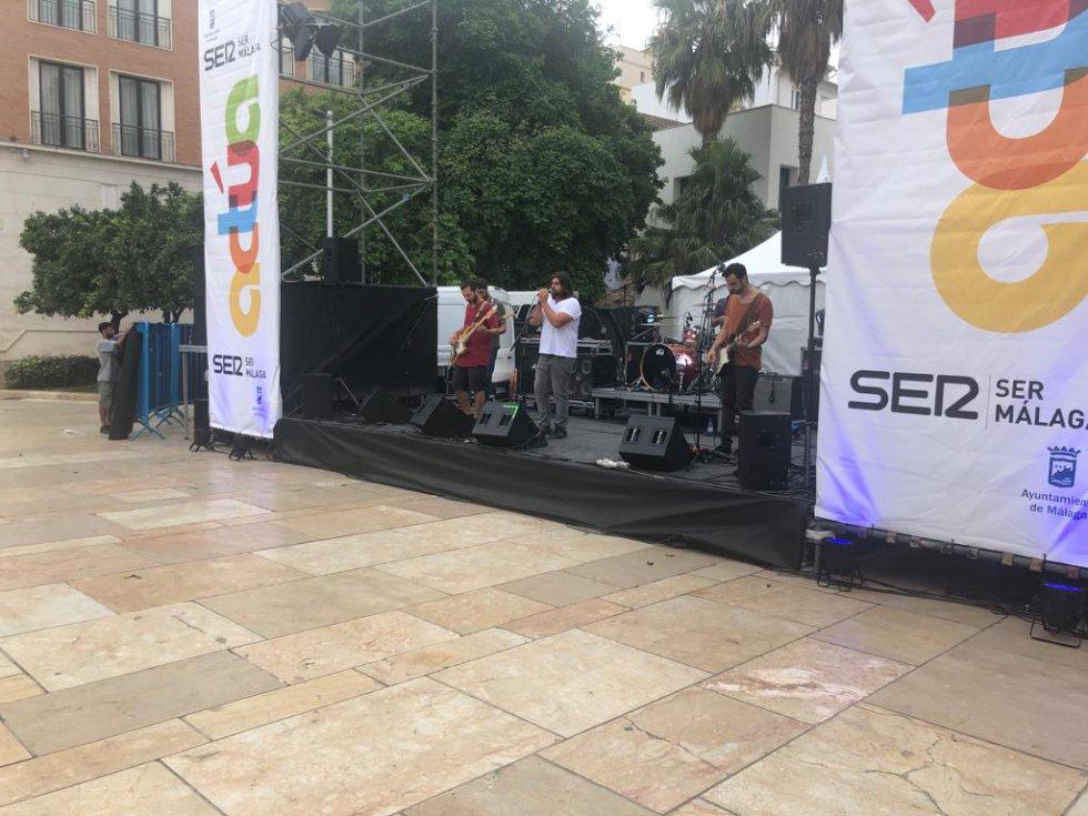 La Cadena SER con los creadores de Málaga