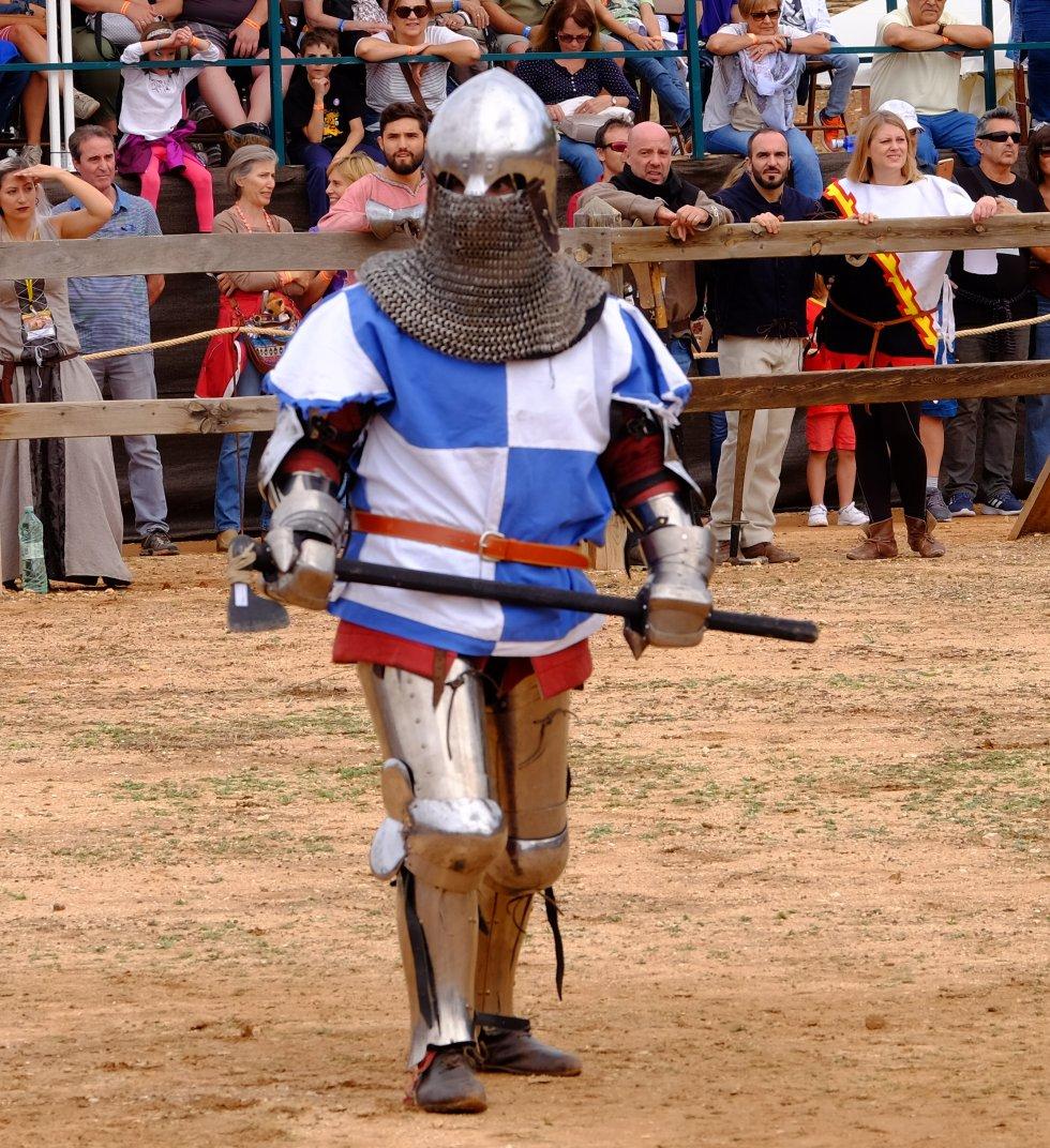 Combate medieval en el Castillo de Belmonte (Foto-Galeria)