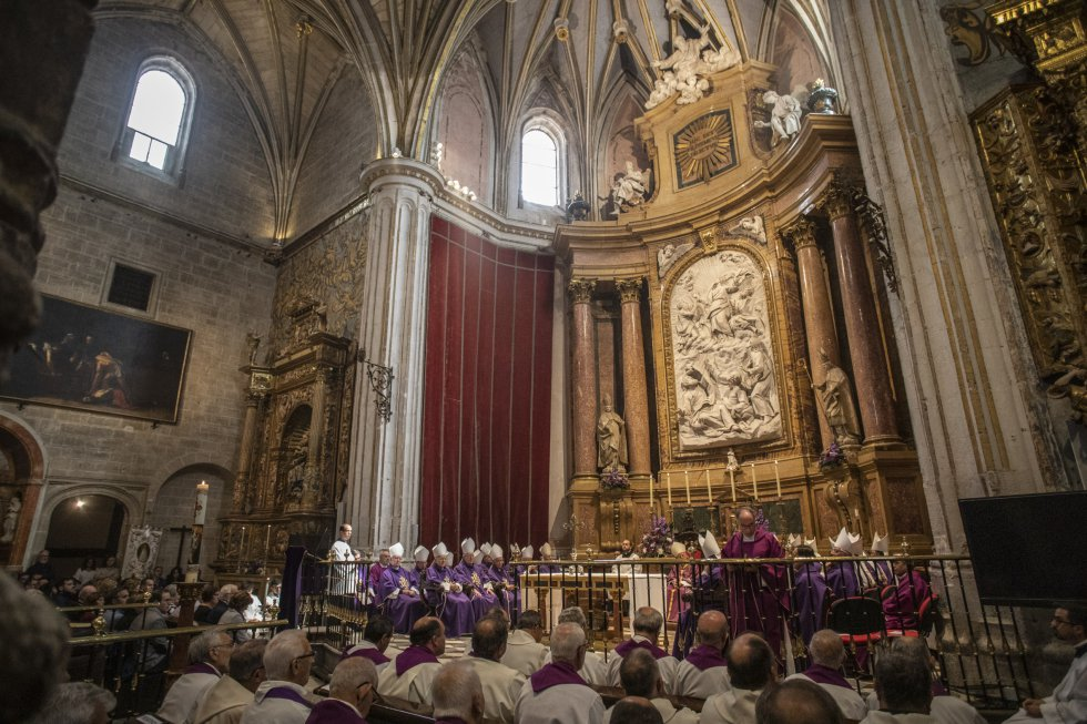El sepelio de Gregorio Martínez Sacristán
