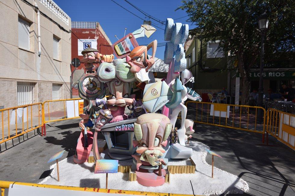 FOTOGALERÍA | Monumentos Falleros de Elda 2019