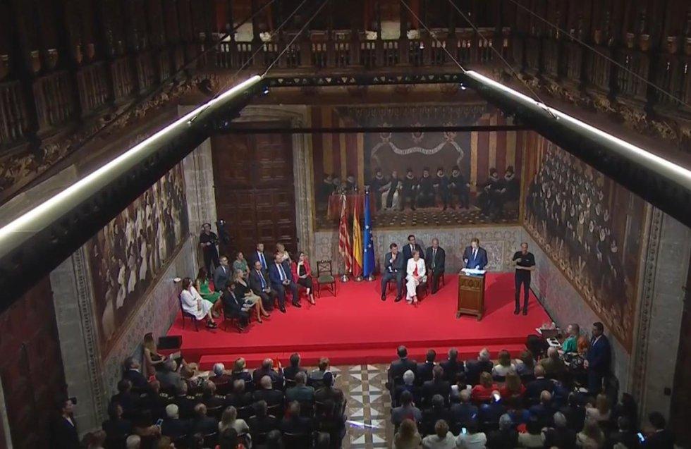 El President de la Generalitat ha pedido que haya un Gobierno estable y un Parlamento que entienda la diversidad territorial y garantice la igualdad