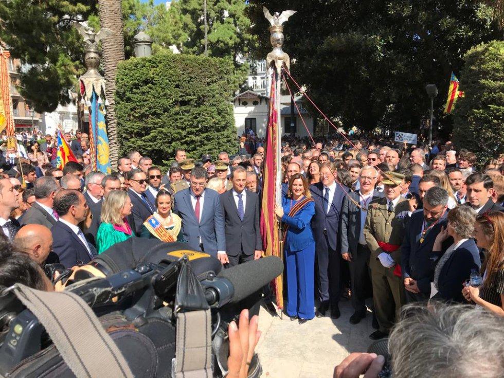 Así ha sido la procesión cívica del 9 d'Octubre en València