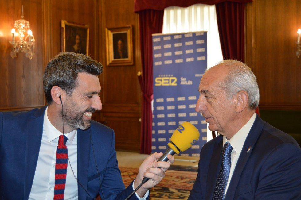 Entrevista con el presidente de la Cámara de Comercio de Avilés, Luis Noguera