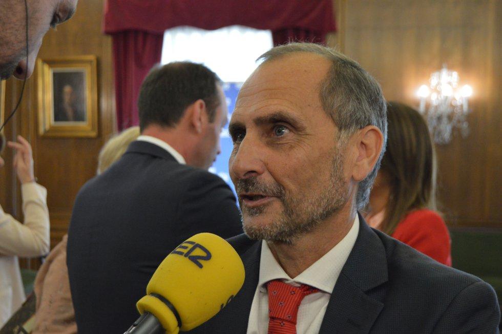 Heriberto Menéndez, coordinador de la Cámara de Comercio de Avilés