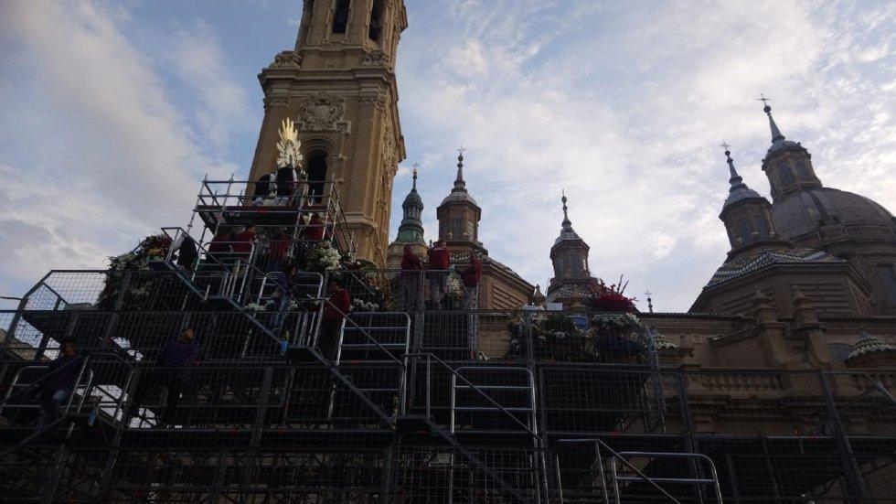 La Basilíca del PIlar, centro de devoción a la Virgen