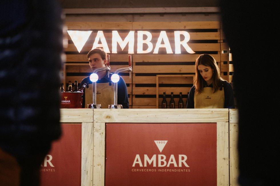 Las marcas estuvieron muy presentes en la zona VIP del concierto de Amaral de Los40 y Radio Zaragoza.